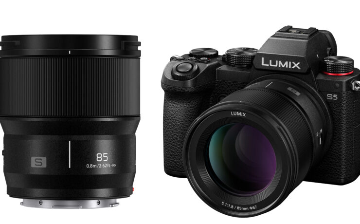 Panasonic LUMIX S 85mm F1.8 for L-Mount Launched, 50mm, 35mm & 24mm Due Soon