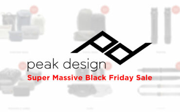 Peak Design Super Massive Black Friday Sale - Up to 20% Off