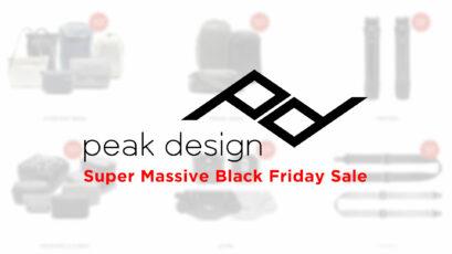 Oferta Súper Masiva de Black Friday de Peak Design – hasta 20% de descuento