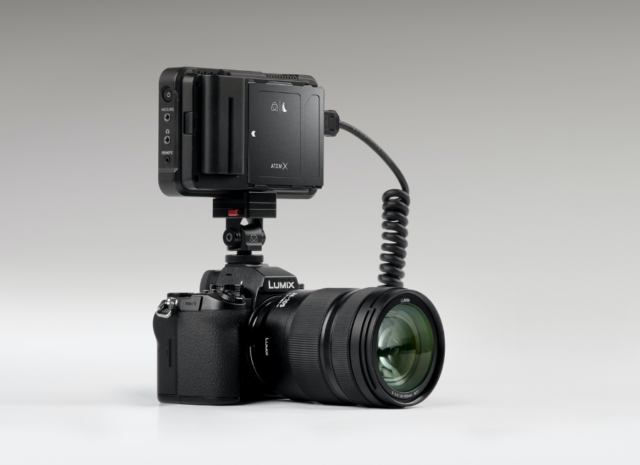 Panasonic LUMIX S5 with Atomos Ninja V recorder