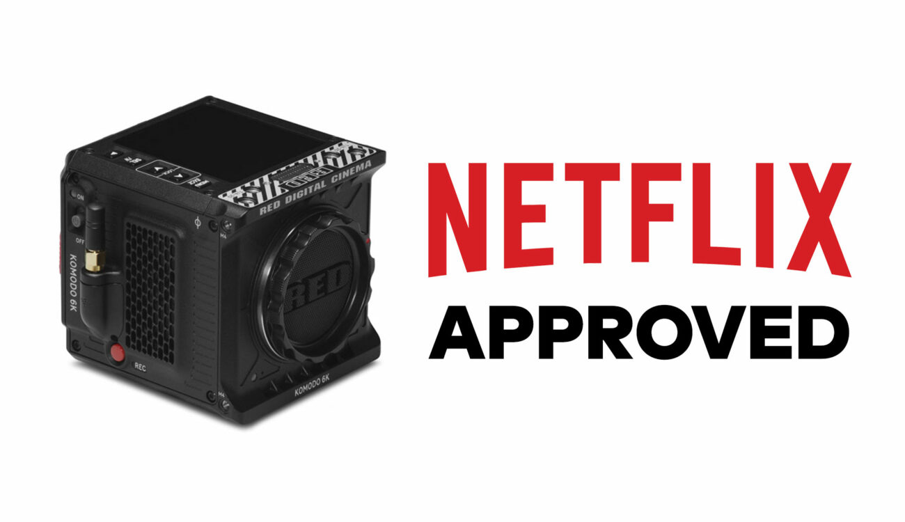 RED Komodo Now Netflix Approved