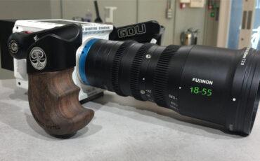 Kit de conversión de MTF Services - Montura RF para lentes zoom FUJINON MK