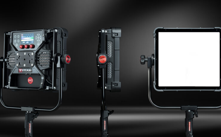 Rotolight Titan X1 Announced - with Built-in Diffuser System