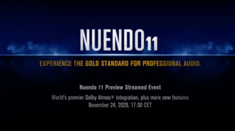 Steinberg Nuendo 11 DAW – Live Streaming Event