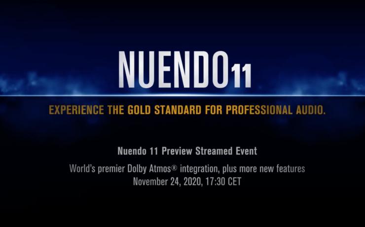 Steinberg Nuendo 11 DAW – Live Streaming Event
