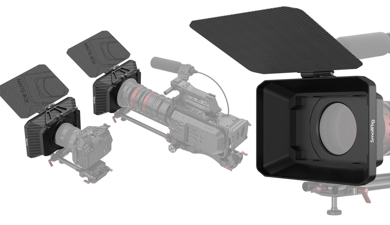 SmallRig Lightweight Matte Box Announced