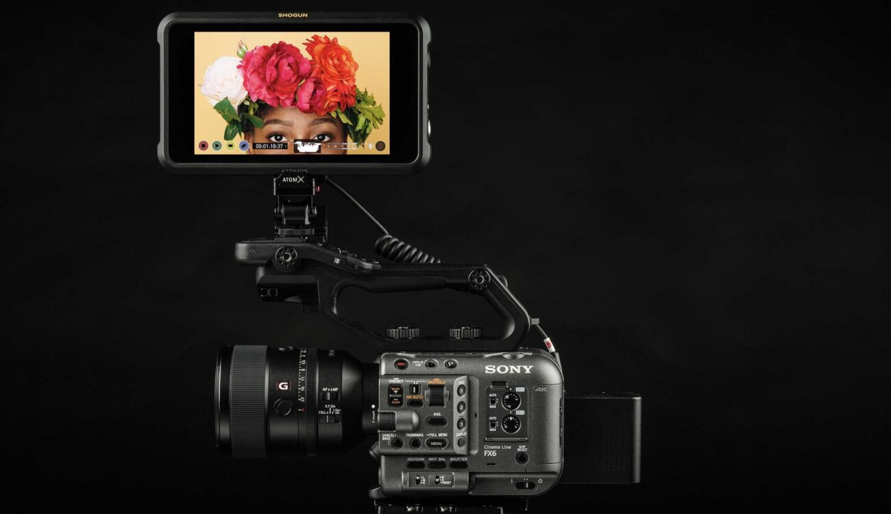 Atomos Shogun 7 Supports Sony FX6 RAW Output for DCI 4K60 12-Bit ProRes RAW