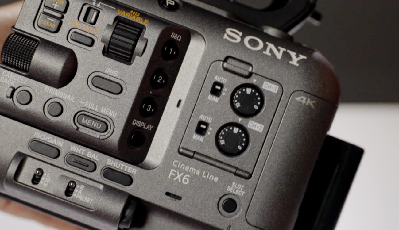 Free 90-minute Sony FX6 Masterclass: Alister Chapman Teaches Filming on the Tiny Wonder