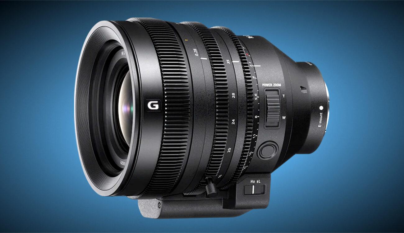 Ya está disponible para pre-pedido el lente Zoom de Cine Sony FE C 16-35mm T3.1 G E-Mount