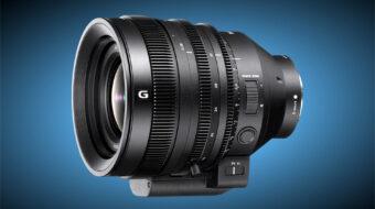 ソニーがFE C 16-35mm T3.1 Gシネマズームの予約注文を開始