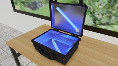 TDM Audio Pro UVC Case Disinfects Your Microphones