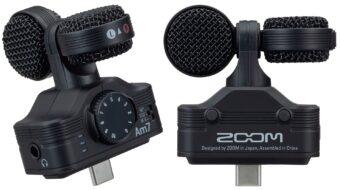 Zoomがアンドロイドスマートフォン用Am7 マイクロフォンを発表