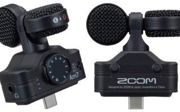 Anunciaron el micrófono Zoom Am7 para teléfonos Android con USB-C