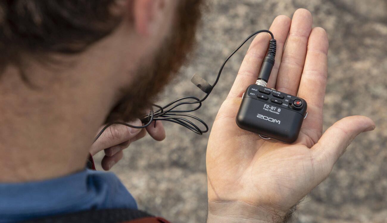 Anunciaron los Zoom F2 y F2-BT - Nuevas grabadoras de audio de campo ultracompactas