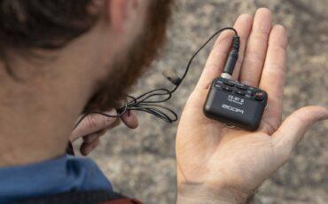 ZoomがF2 & F2-BTフィールドオーディオレコーダーを発表