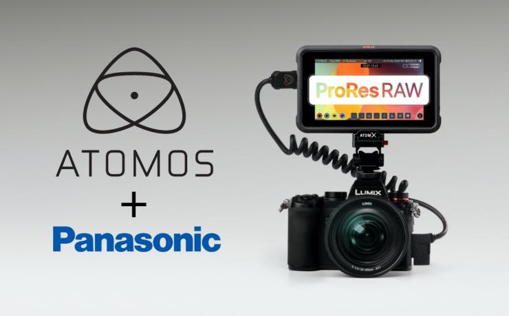 Atomos ProRes RAW Recording from Panasonic LUMIX S5 Camera Announced