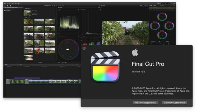 Final Cut Pro 10.5 Update