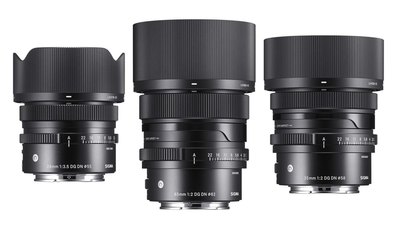 Three New SIGMA Prime Lenses for L-Mount revealed