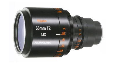 Vazen 65mm T/2 1.8x Anamorphic Lens for MFT Announced