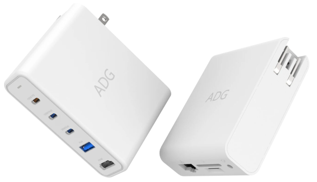 ADG 100W Charger – a Neat 9-in-1 USB-C Hub