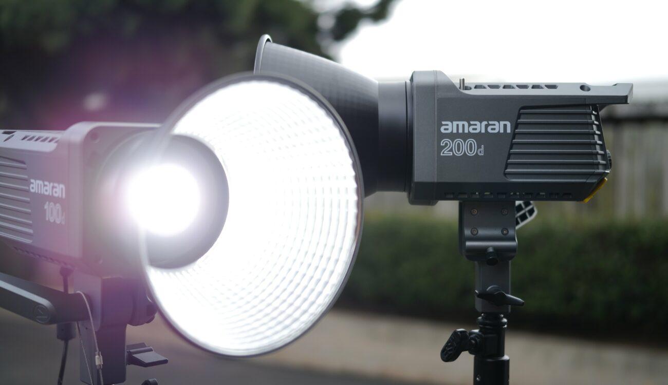Reseña de los Amaran 100d y 200d - Nuevos accesorios LED asequibles de Aputure