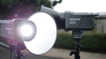 Amaran 100d and 200d Review - New Affordable LED Fixtures from Aputure