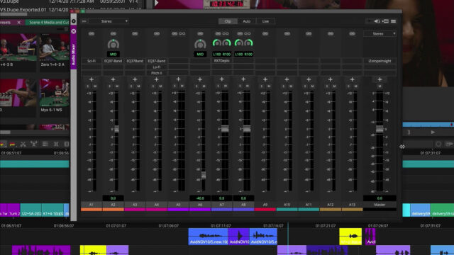 Avid Media Composer 2020.12 - Audio Mixer Updates (Source: Avid)