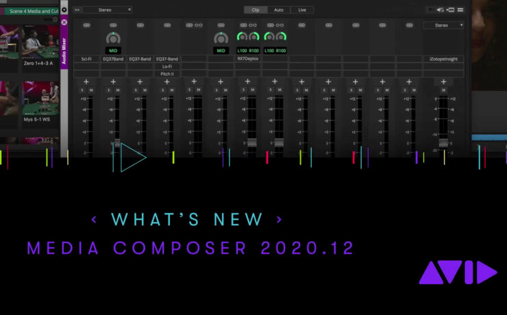 Media Composer 2020.12 – Native H.265/HEVC Support & More