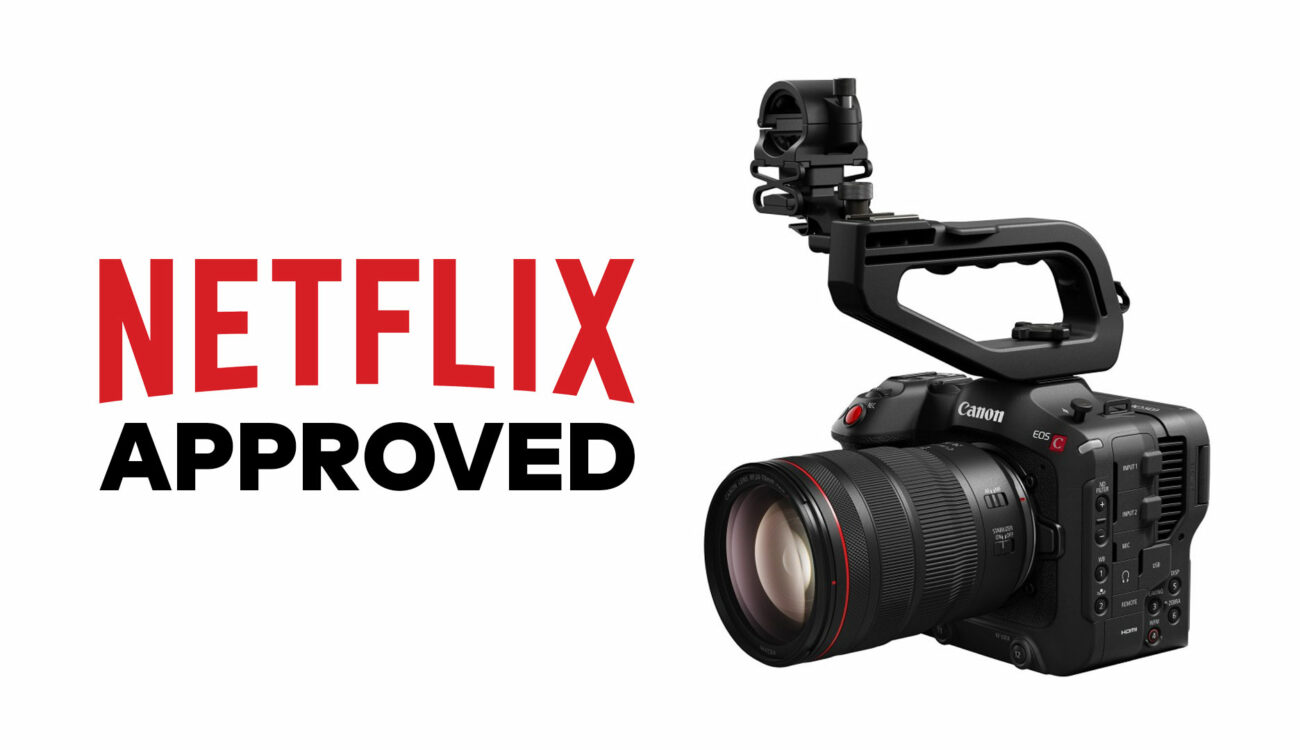 Canon EOS C70 Now Netflix Approved