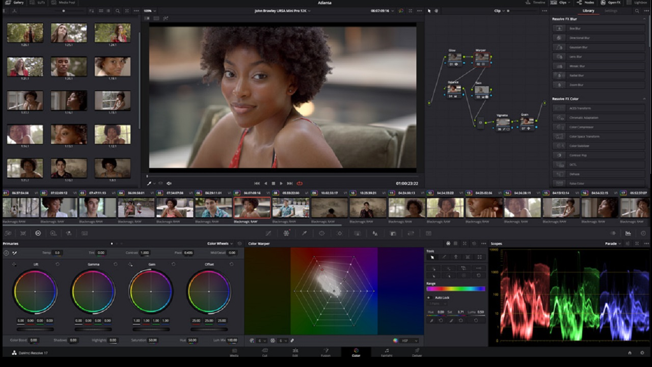 Lanzaron DaVinci Resolve 17 y 17.1 Public Beta 3
