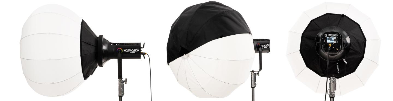 SNAPBAG Lantern for Velvet KOSMOS 400. Image credit: DoPChoice