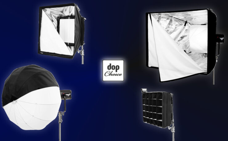 DoPchoice Modifiers for Velvet KOSMOS 400 and Rotolight Titan X1 Introduced