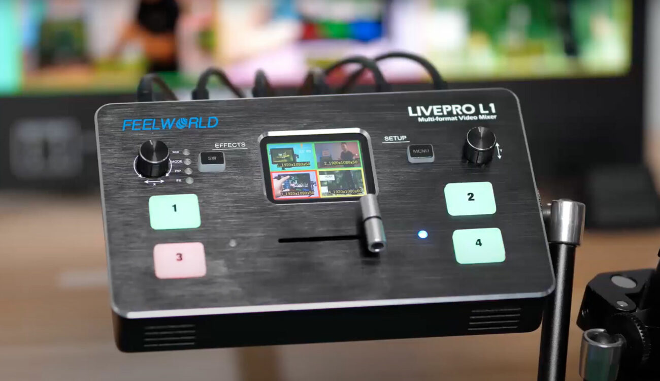 FEELWORLD LIVEPRO L1 HDMI Video Switcher Launched
