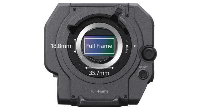 Sony FX9 Full Frame Sensor dimensions