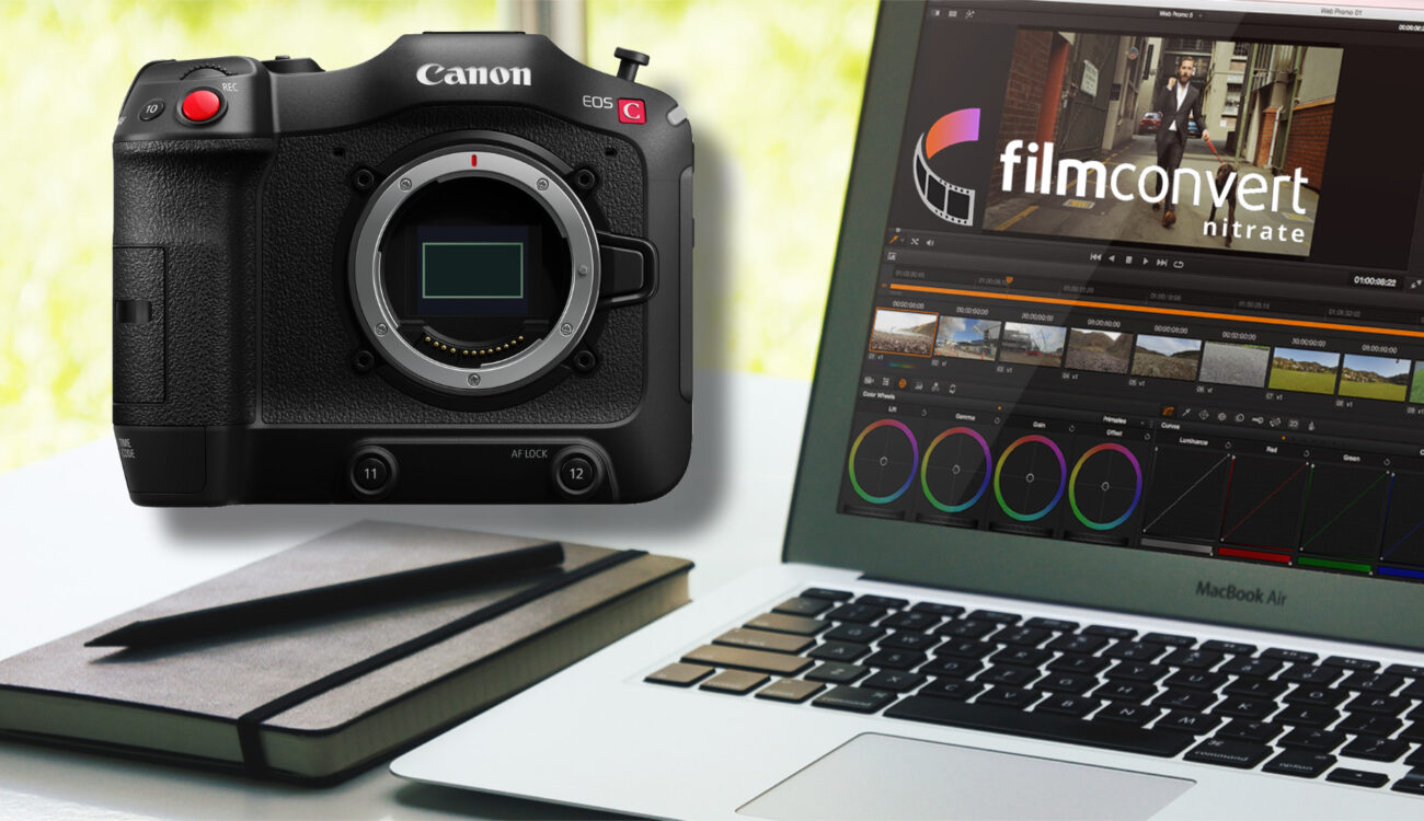FilmConvert Adds Canon C70 Camera Pack