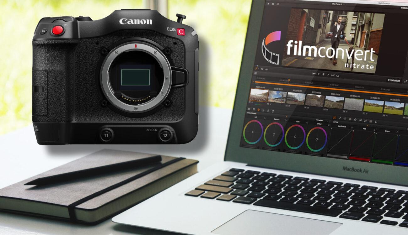 FilmConvertがキヤノンC70用カメラパックを追加