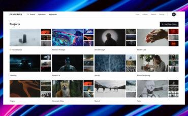Filmsupply Website Revamp – Find Premium Stock Footage Easily