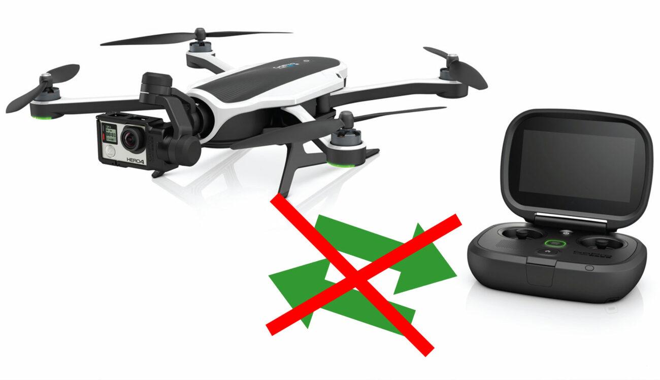 Dron GoPro Karma - Problemas de emparejamiento del controlador