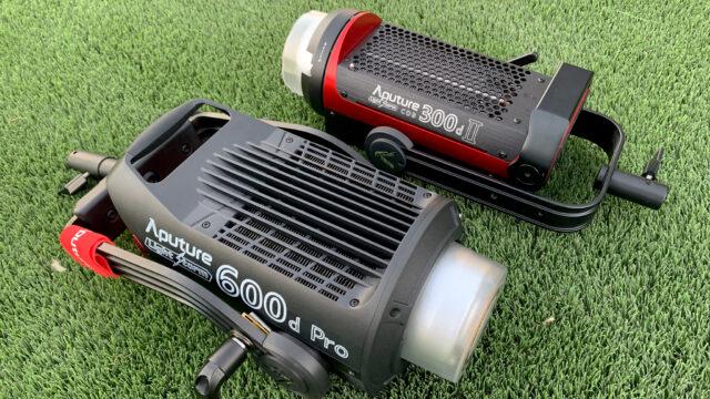 Aputure 600d Pro vs 300d mk II