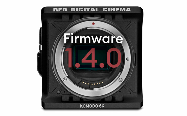 RED KOMODO Firmware 1.4.0 Adds Support for Canon RF Lenses