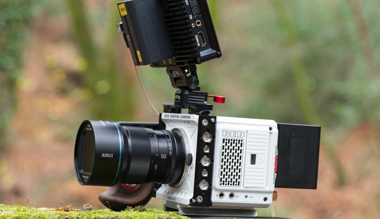 Lentes anamórficos SIRUI de MTF Services ahora compatibles con cámaras de montura RF