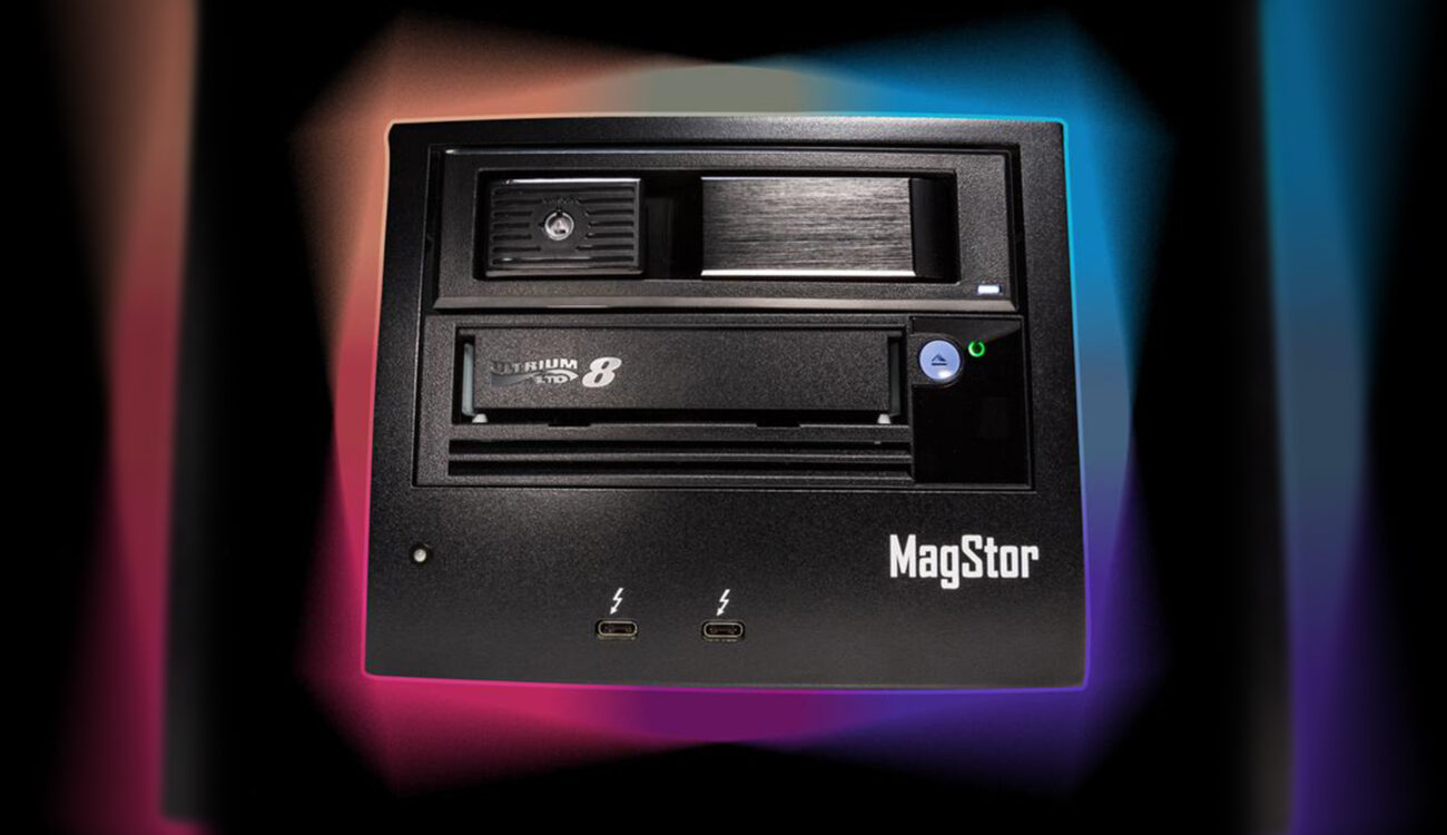 Solución de respaldo MagStor LTO para Mac Apple M1