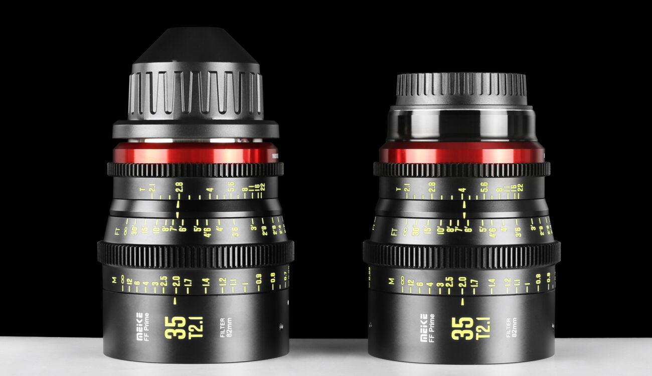 Meikeが35mm T2.1フルフレームシネプライムを発表