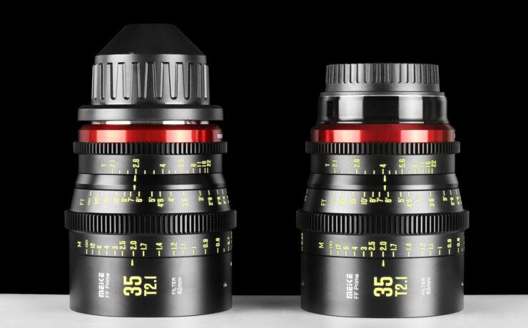Meike 35mm T2.1 Full Frame Cine Prime Announced