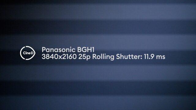 rolling shutter test