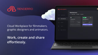 Renderro – Cloud Workplace for Filmmakers, Designers, and Animators