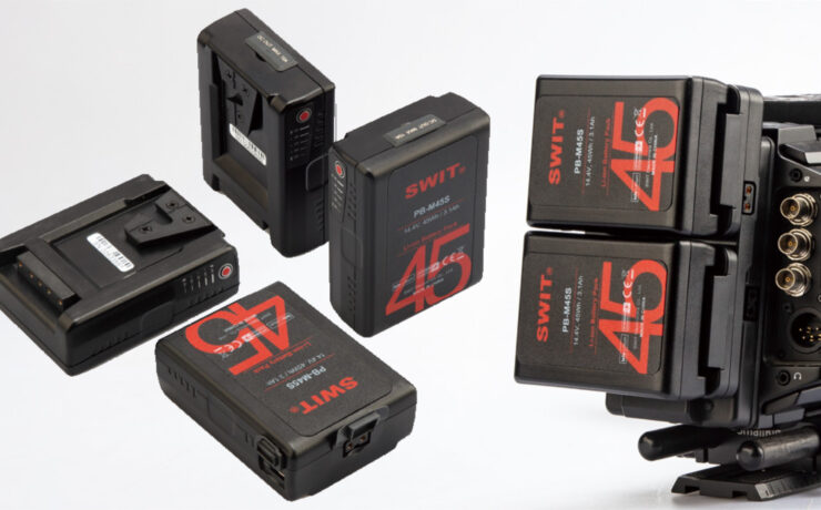 SWIT 45Wh Pocket V-Mount Battery Now Available
