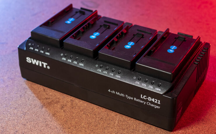 SWIT LC-D421 Review – A Versatile Four-Channel Battery Charger