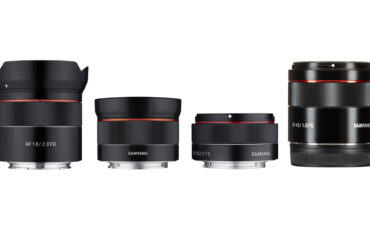 Samyang Firmware Updates for Select Sony FE Lenses – Improved AF