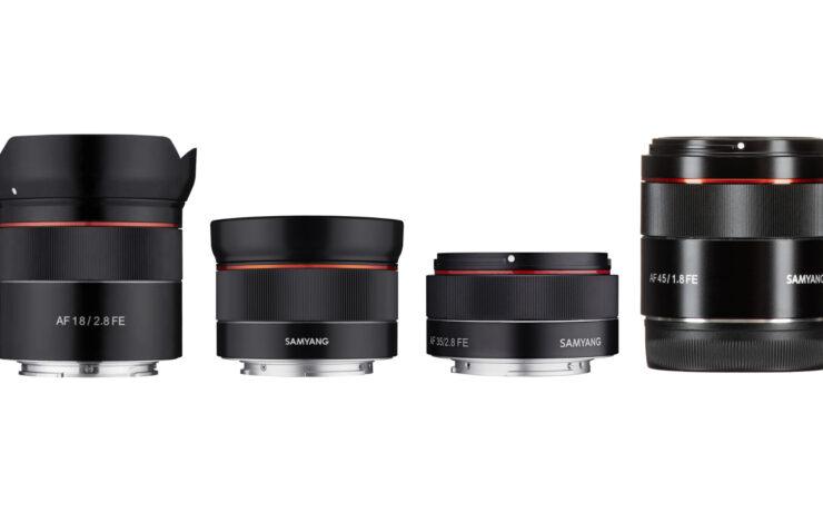Samyang Firmware Updates for Select Sony FE Lenses – Improved AF